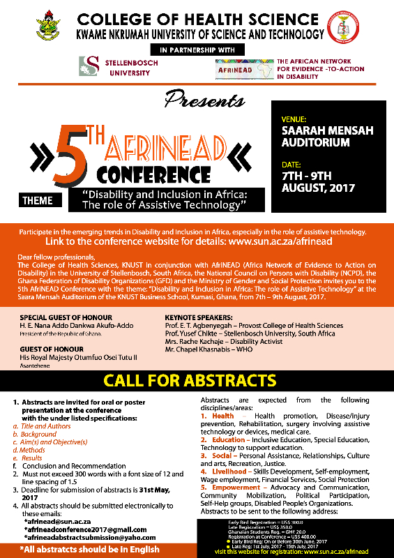 5TH AFRINEAD CONFERENCE